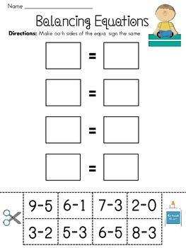 Balancing Subtraction Equations Cut and Pastes