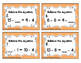 Balancing Subtraction Equations Task Cards