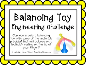 Balancing Toy: Engineering Challenge Project ~ Great STEM