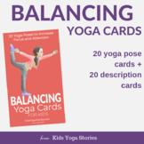 Balancing Yoga Cards for Kids