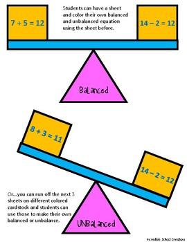 Balancing Your Equations