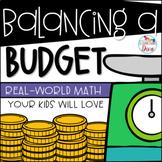 Financial Literacy - Balancing a Budget