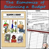 Financial Literacy - Monthly Budget Based on Income - Paper Version