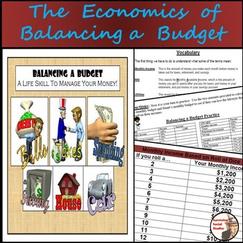 The Economics of Balancing a Budget - Calculating Budgets