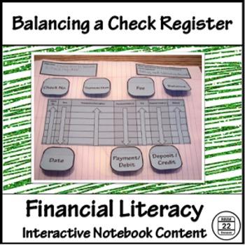 Balancing a Check Register