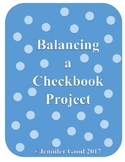 Balancing a Checkbook Project