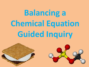 "Balancing a Chemical Equation ""POGIL"" KEY"