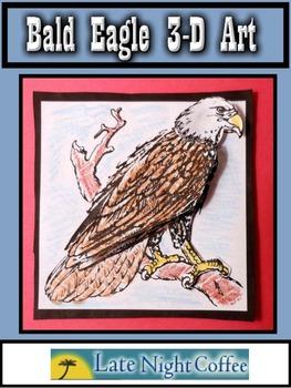 Bald Eagle 3-D Art Project