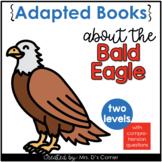 Bald Eagle Adapted Books [ Level 1 and Level 2 ] | America