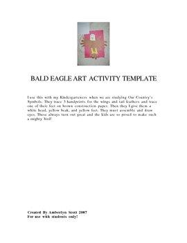Bald Eagle Art Activity.