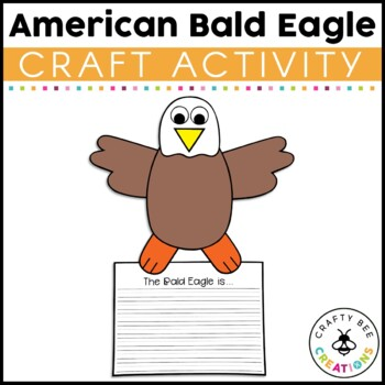 American Bald Eagle Cut and Paste