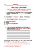 Bald Eagle Exit Ticket and Rubric Bundle