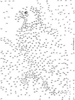 Bald Eagle Extreme Dot-to-Dot / Connect the Dot PDF