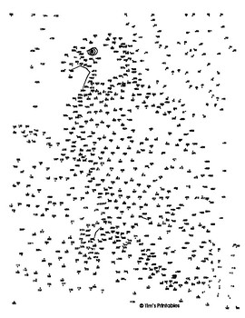 It's just a graphic of Peaceful Free Printable Extreme Dot to Dot Pdf