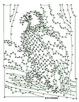 Bald Eagle Extreme Dot-to-Dot / Connect the Dot PDF