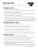 Bald Eagle FAQS: Internet Research