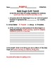 Bald Eagle MODIFIED Exit Ticket and Rubric Bundle