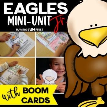 Bald Eagle Nonfiction Informational Text Unit with Digital Boom Card Deck