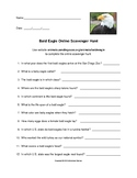 Bald Eagle Online Scavenger Hunt with Answer Key