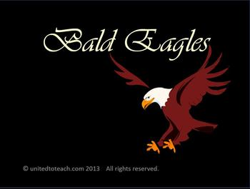 Bald Eagles (Power Point, Bulletin Board Set, Math & Writing)