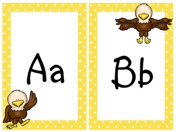 Bald Eagle Print Alphabet by Teaching Ambrosia