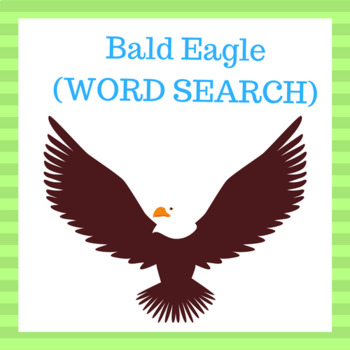 Bald Eagle  (WORD SEARCH)