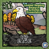 Bald Eagle - 15 Zoo Wild Resources - Leveled Reading, Slides & Activities
