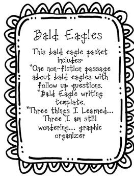 Bald Eagles Non-Fiction