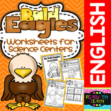Bald Eagles - Science Center - Worksheets to complement any Reading + Poster
