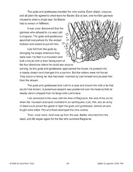 Balder the Good - Norse Myth