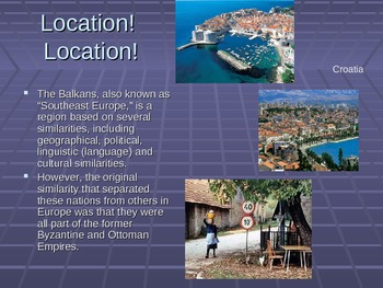 Balkan Nations Power Point Presentation