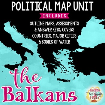 Balkan Peninsula Map Unit