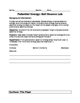Ball Bounce Lab