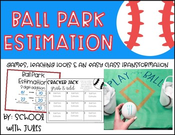 Ball Park Estimation Room Transformation and Math Stations