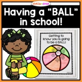 Ball Thematic Unit - Math, Literature, Writing, Art, Games