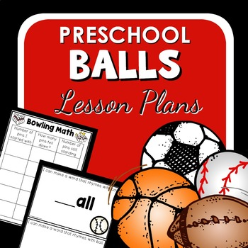 Ball Theme Preschool Lesson Plans