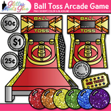 Ball Toss Arcade Game Clip Art: Carnival Graphics {Glitter Meets Glue}