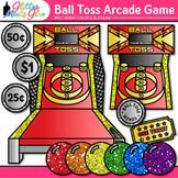 Ball Toss Arcade Game Clip Art: Carnival Graphics {Glitter Meets Glue}