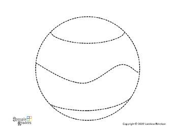 Symple Readers Week 3 Ball Tracing Worksheet