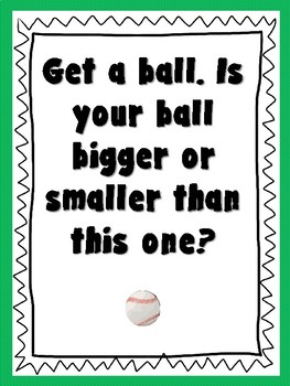 Ball Unit Discussion Question Posters