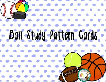 Ball theme pattern cards