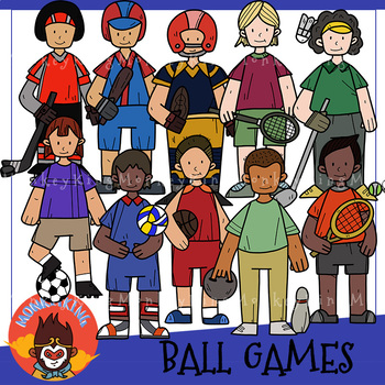 BallGames clip art