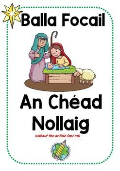 Balla Focail: An Chéad Nollaig WITHOUT AN/NA