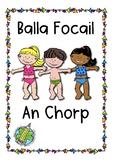 Balla Focail: An Corp