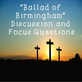 Ballad of Birmingham While You Read Discussion and Focus Questions