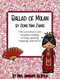 Ballad of Mulan Literature Unit