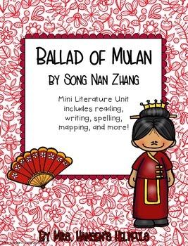 The ballad of mulan book pdf