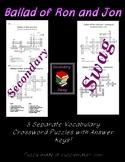 Ballad of Ron and Jon - Crossword Puzzles