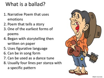 Ballads: Defining, Understanding, and Writing