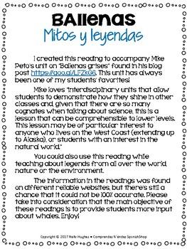 Ballenas: Mitos y leyendas